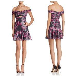 Wayf Janet sequin mini dress S